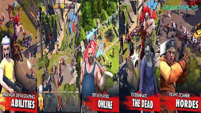 Zombie Anarchy War & Survival apk v1.0.9 Terbaru