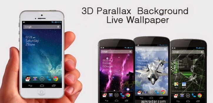 Ios 7 Iphone Wallpaper: 3D Parallax Background 1.28 APK