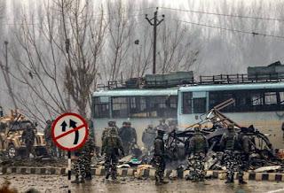 PULWAMA TERROR ATTACK : काश्मीर के पुलवामा क्षेत्र में सबसे बड़ा आतंकी हमला-