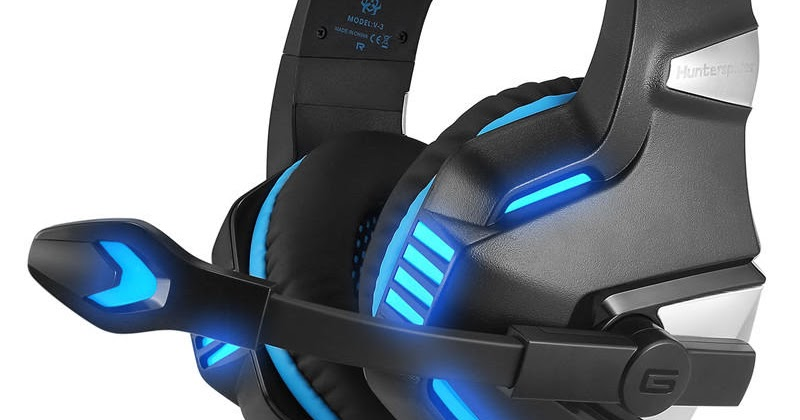 Hunterspider V3 3 5mm Wired LED Gaming Headphone Noise