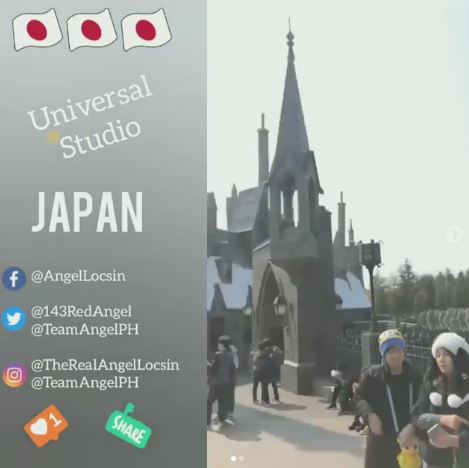 Angel Locsin and Her Adventure In The Universal Studio of Osaka, Japan!