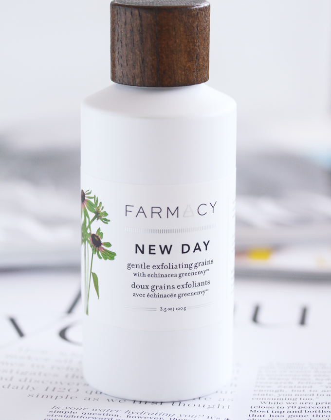 Farmacy New Day Exfoliating Grains, Washing Your Face In The Morning