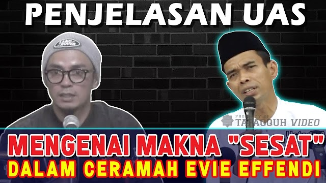 Evie Effendi Menyampaikan Nabi Muhammad Pernah Sesat, Ini Jawaban Ustadz Abdul Somad