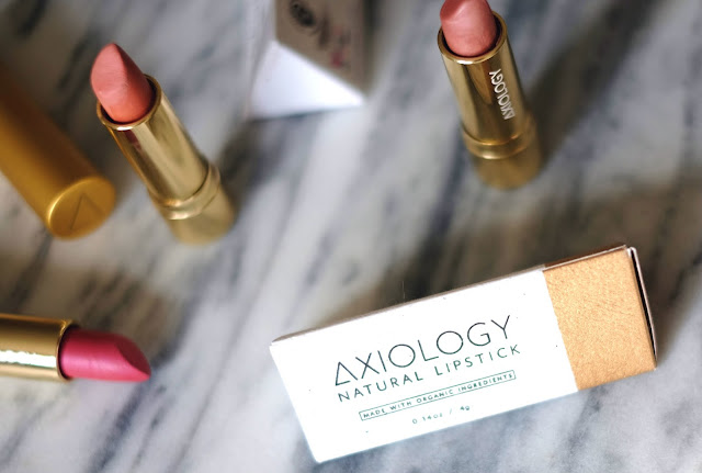Review of Axiology Lipsticks