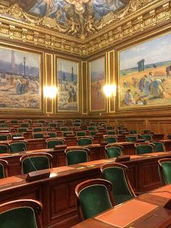 Sallle de l'Assemblée Générale du Conseil d'Etat