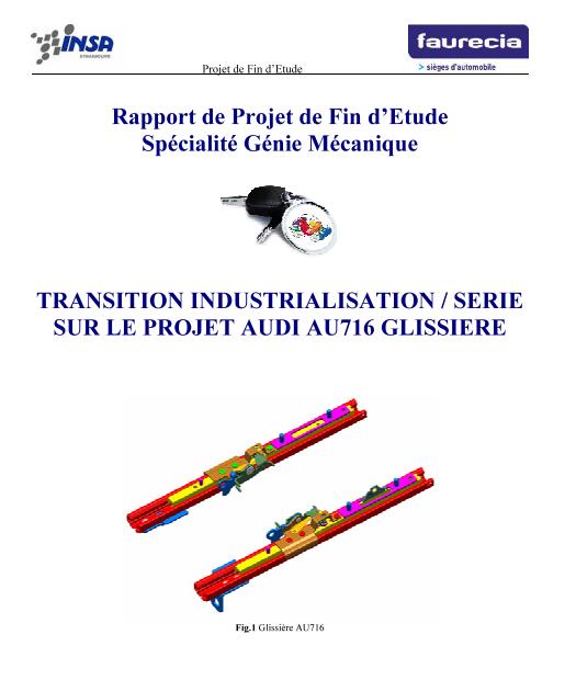 rapport de projet de fin d u0026 39 etude specialit u00e9 genie
