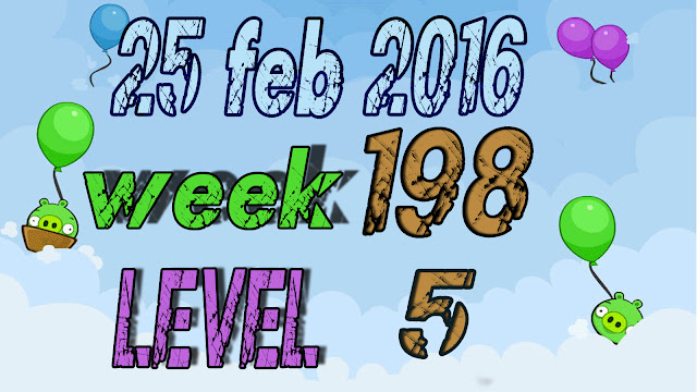 Angry Birds Friends Tournament Week 198 level 5