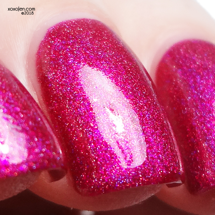 xoxoJen's swatch of Grace-full Nail Polish Love is Lethal