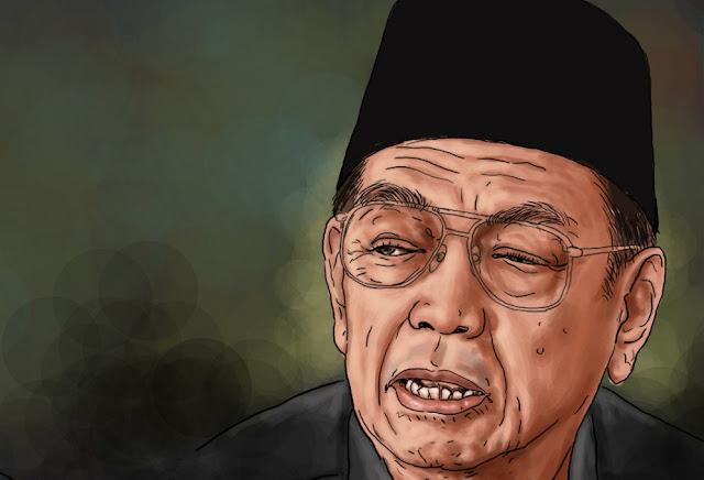 Gus Dur: Saya Keturunan Banten, Keturunan China dan Keturunan Yaman