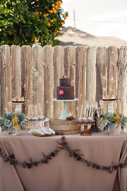 Camping Theme Baby Shower Design Dazzle
