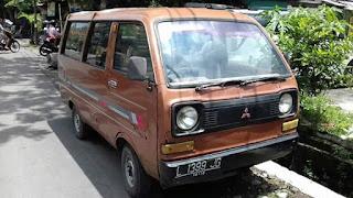 Dijual Mitsubishi Jadul Minicab 1983