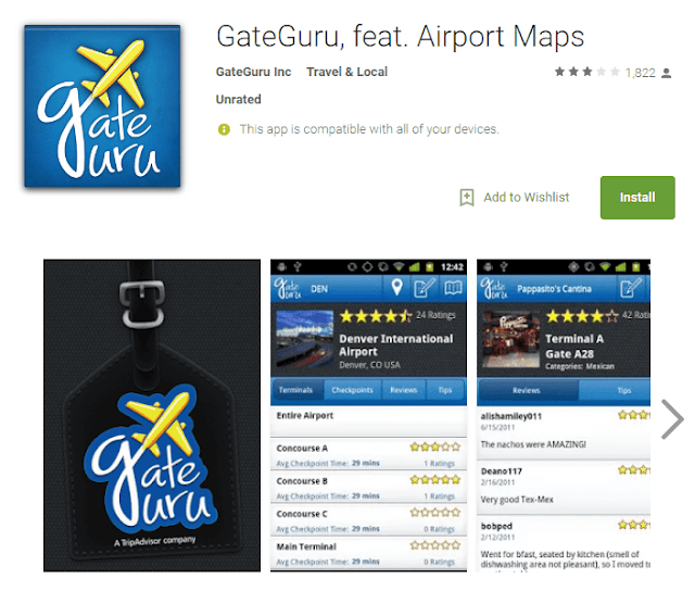 gate guru android app