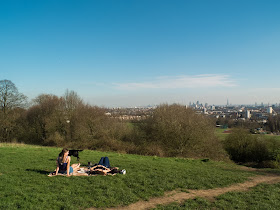 London on a spring day