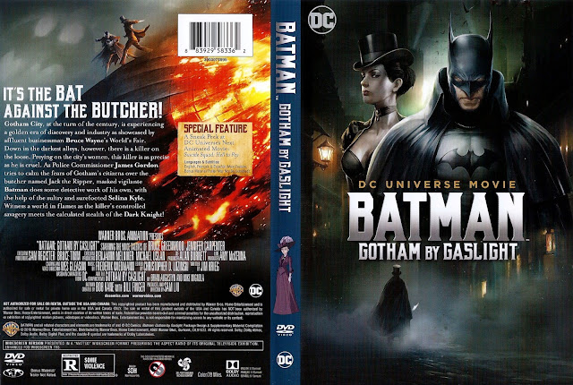 Batman Gotham By Gaslight DVD Cover