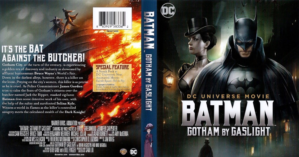Batman dog movie dvd