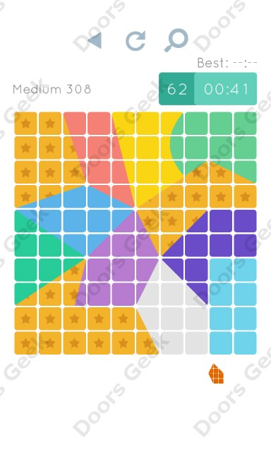 Cheats, Walkthrough for Blocks and Shapes Medium Level 308