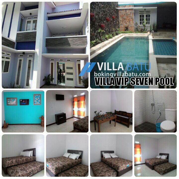 Villa Di Batu Malang VIP Kolam Renang