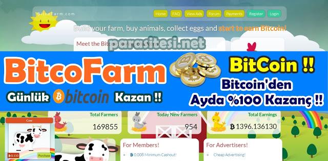 bitcofarm ile bitcoin kazan