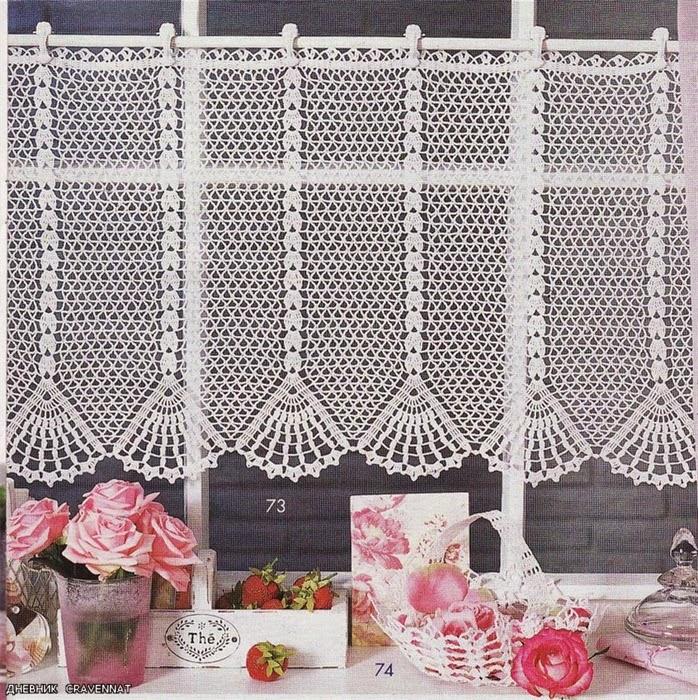 Loza: Curtains Crocheted