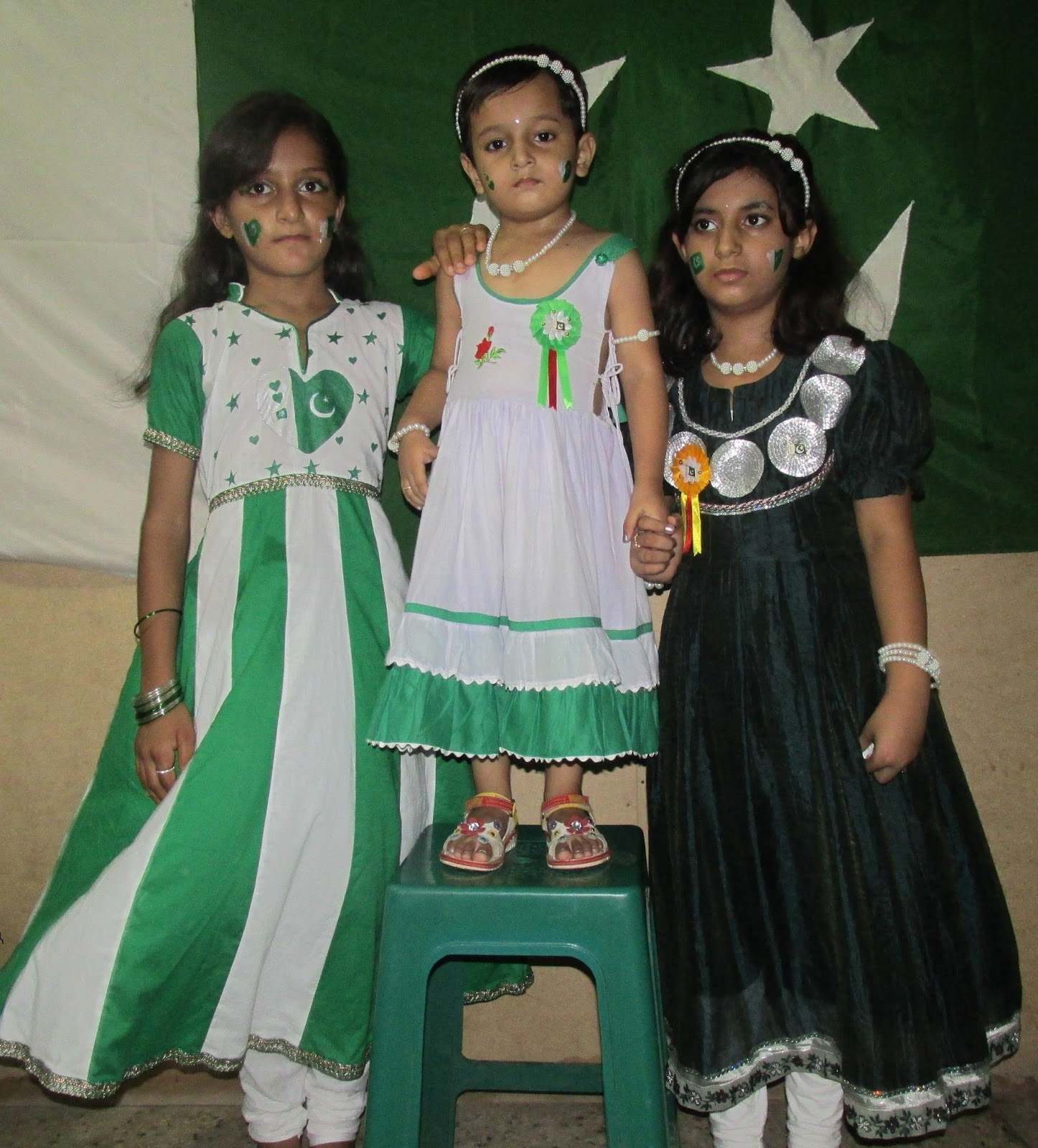 Pak Independence day 14 August 2015 /Little Girls Dresses ...