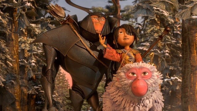 "In ""Kubo and the Two Strings"", three strange heroes on a quest"