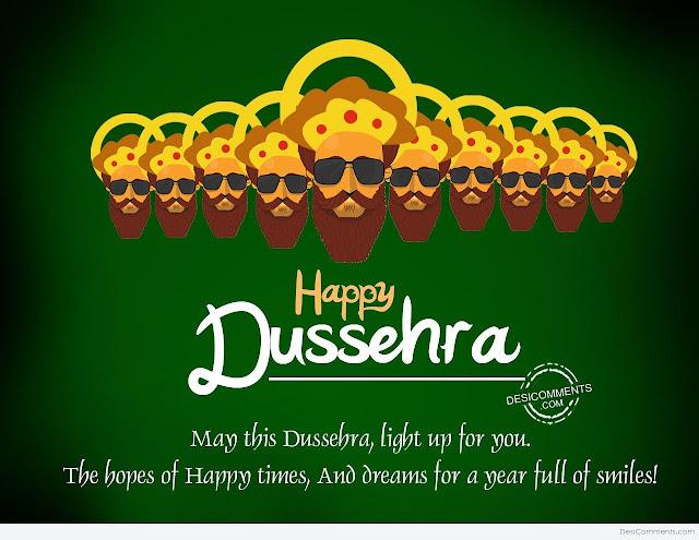 Happy Dusshera  Message 2017