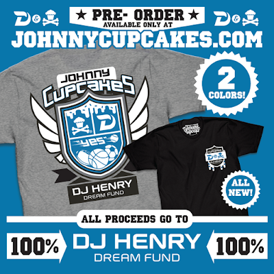 DJ Henry Dream Fund Charity T-Shirt by Johnny Cupcakes