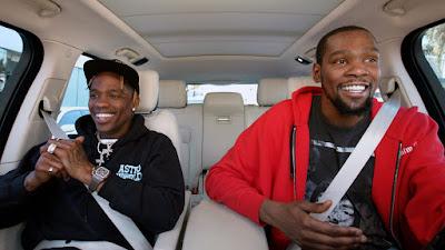 Carpool Karaoke - Kevin Durant & Travis Scott Cover