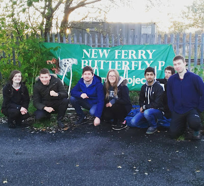 Chester Wild Society's first visit to the Butterfly Park. Photo: Hilary Ash