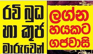 Budha Maruwa 2016 Sinhala Horoscope Predictions