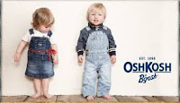 OshKosh B'gosh has a tradition of making your kid's look ruggedly cute and adorable!