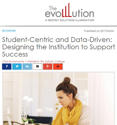 screen capture of evoLLLution article online