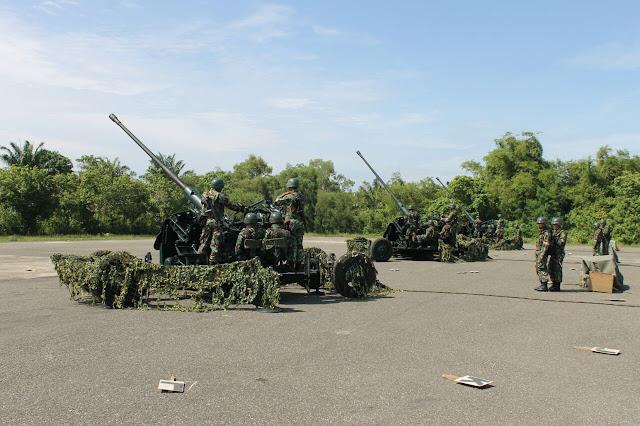 Latihan Menembak Senjata Berat, TNI Minta Nelayan Aceh Utara Tidak Melaut