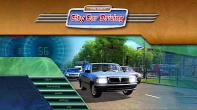 تحميل لعبة قيادة السيارات وتنزيل City Car Driving بترخيص مجاني للكمبيوتر