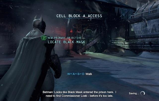 Batman Arkham Origins Games Screenshots