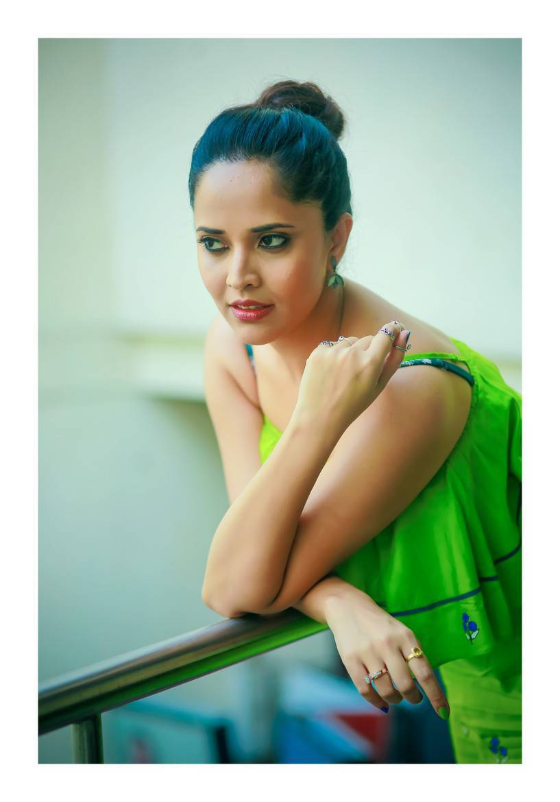 Anchor Anasuya Bharadwaj Photo Shoot Stills