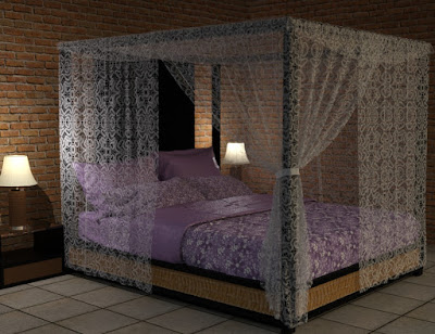Morphing Canopy Bed