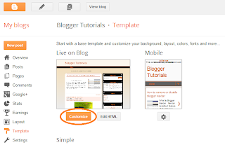three column blogger template layout