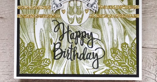 54. Marble male Birthday card
