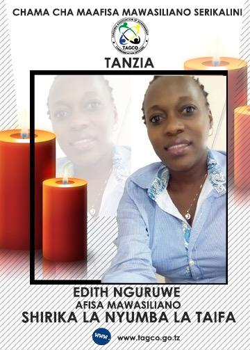 TANZIA: EDITH NGURUWE AFARIKI DUNIA