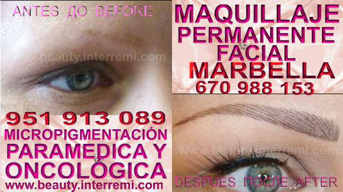 micropigmentyación Granada clínica estetica entrega los deseable precio para micropigmentyación, maquillaje permanente de cejas en Granada y marbella