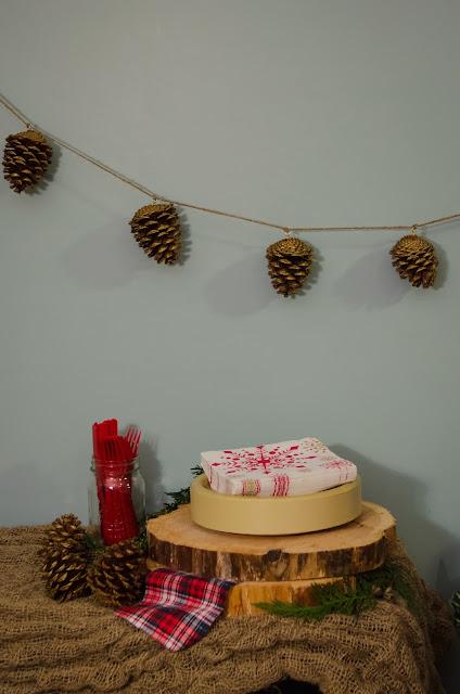 Cozy Christmas Party - lemonthistle.blogspot.com