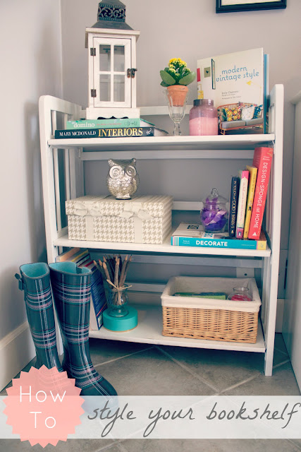 Little White Bookcase Today Im Sharing The Method To My Styling Madness Here It Goes