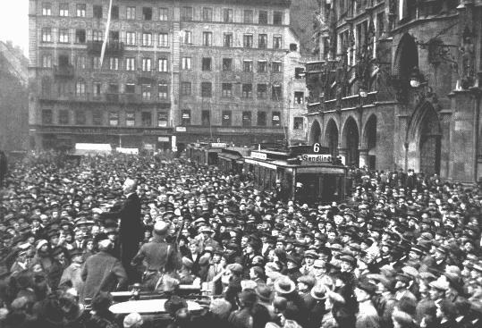 Golpe de estado Hitler 1923