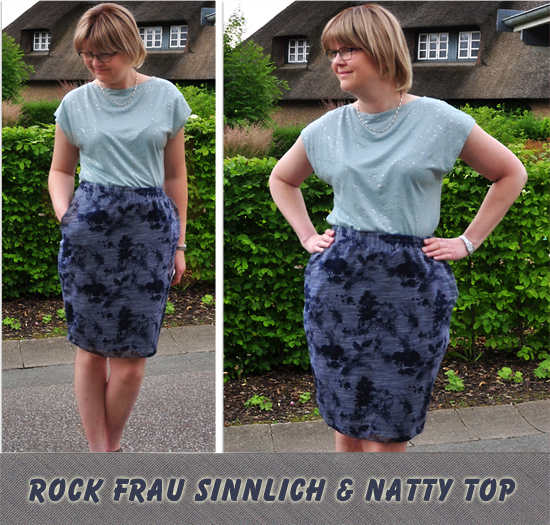 Rock Frau Sinnlich by Jojolino + Natty Top