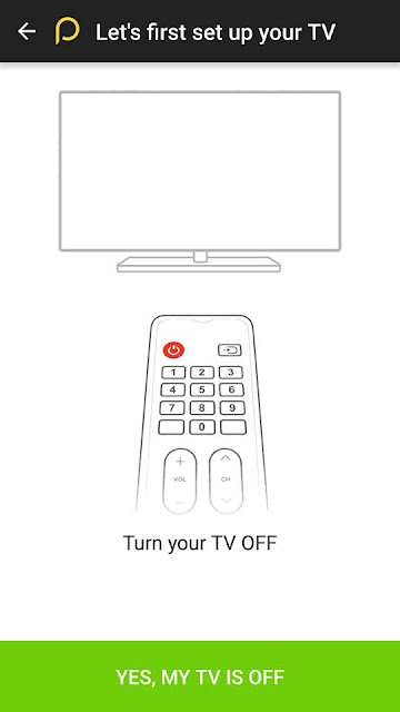 how to control your tv or any other electronic device using your android smartphone step 2