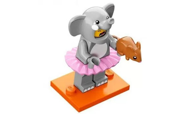 Lego Collectible Minifigures Series 18: Elephant Suit Character