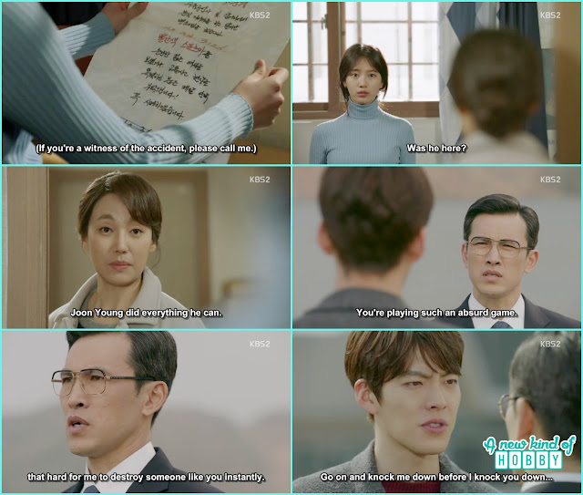 young ok told eul that he pass the bar exam and do everything he could - Uncontrollably Fond - Episode 17 Review