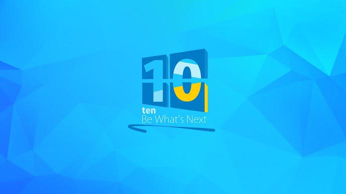 Wallpaper: Be Next, Be Windows 10