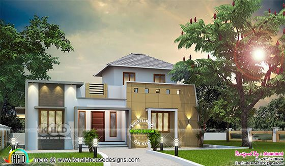 5 bedroom modern house in 1430 square feet